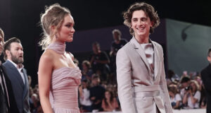 Timothee Chalamet Lily Rose Depp Timothée Chalamet girlfriend